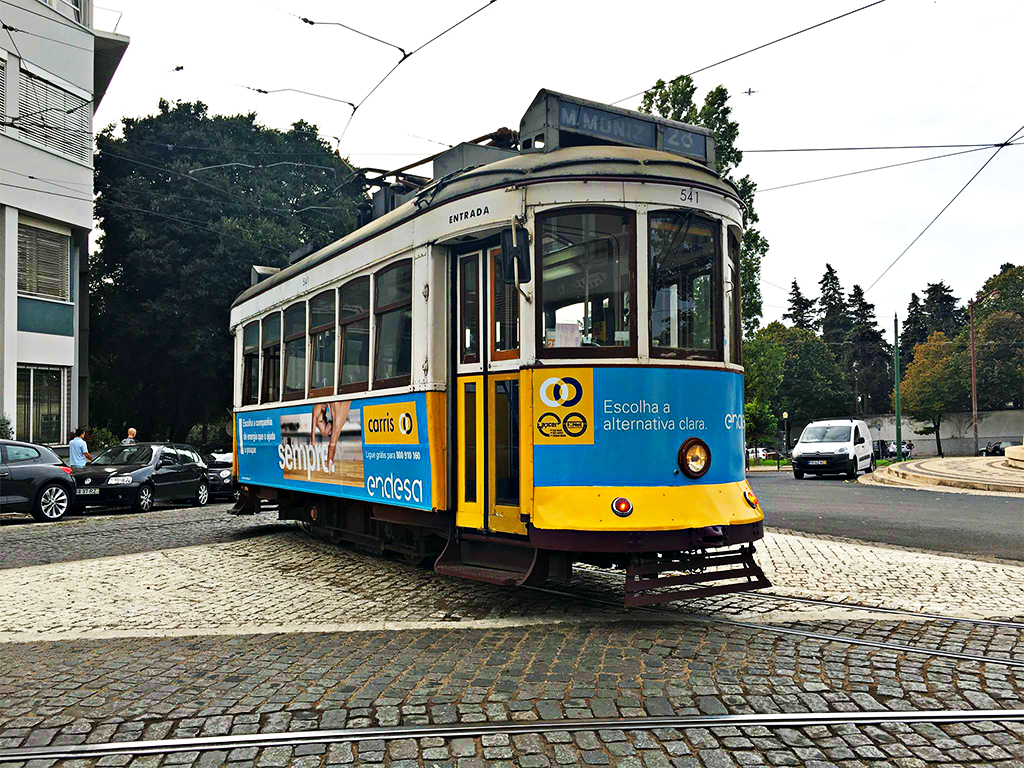 lisbon portugal tram travel with mia ps