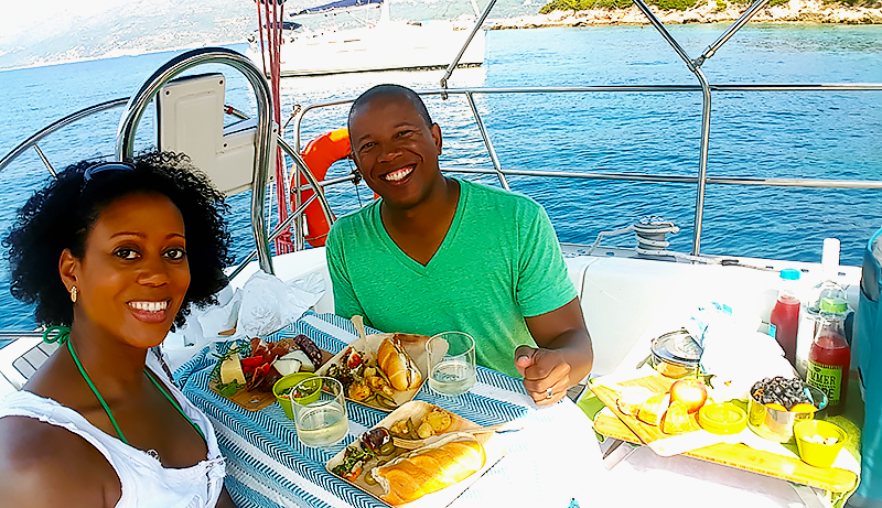 Mia and Anthony - Dubrovnik-in-3-Days-Travel-with-Mia-Dubrovnik-Daily-Sailing-Piknik-Dubrovnik