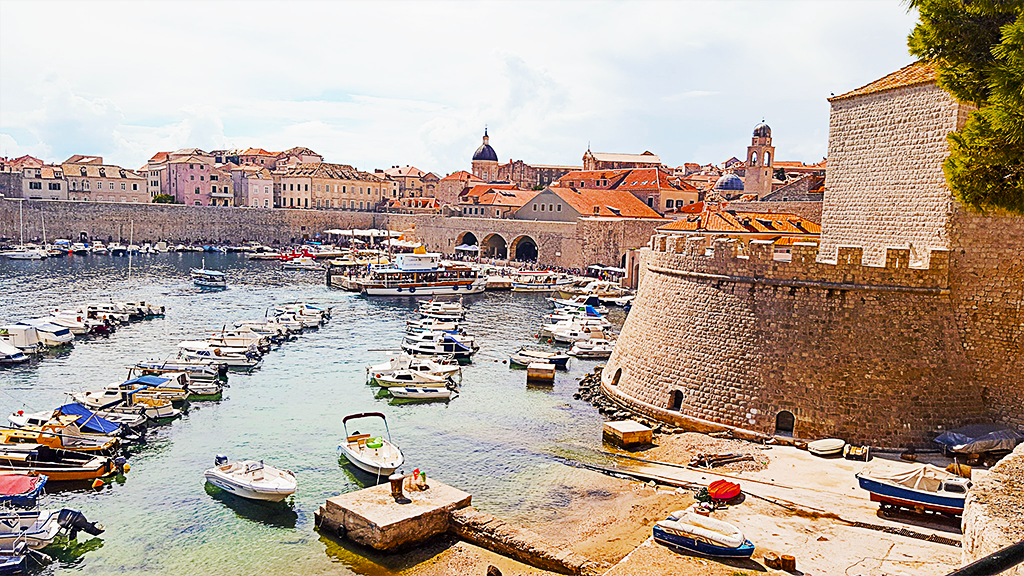 dubrovnik croatia instaworthy old port boats NEW