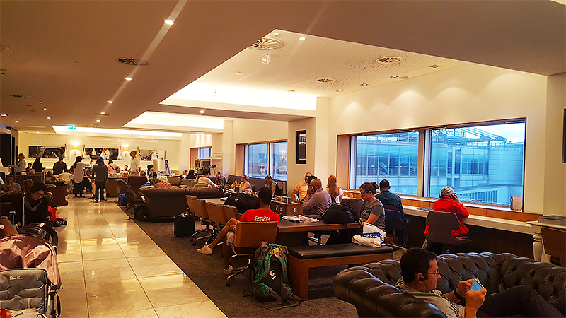 No 1 Lounge London Heathrow Review - Travel with Mia - Lounge