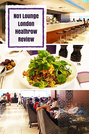 Travel wtih Mia - No1 Lounge London Heathrow Review - Pin Me