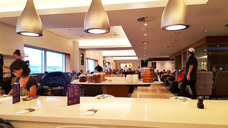 Travel wtih Mia - No1 Lounge London Heathrow Review - bistro