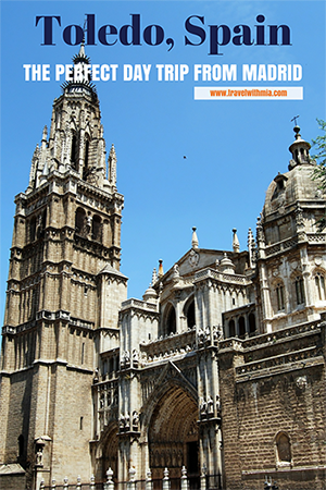 Travel with Mia - The Perfect Day Trip from Madrid - Pin Me Small