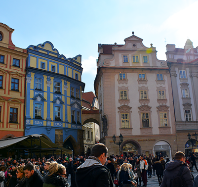 Prague in 3 days - travel with mia - old town