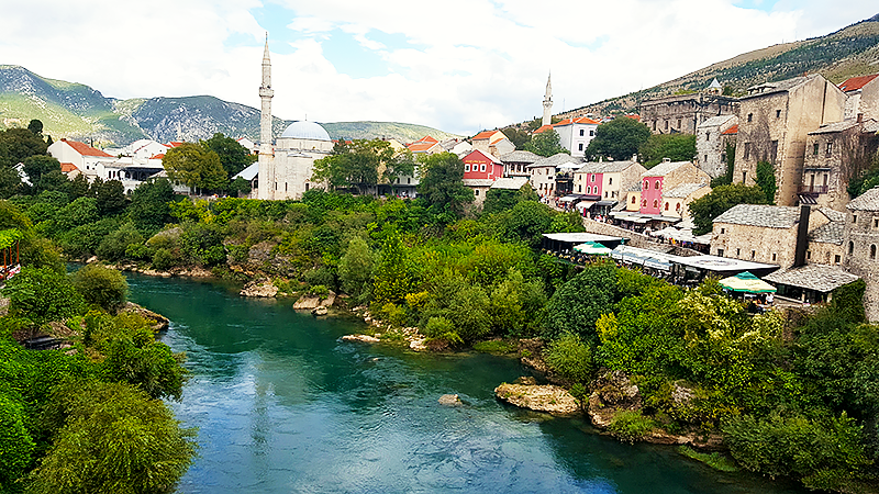 Europe on a Budget - 5 Cheap Holiday Destinations - Travel with Mia - Mostar Bosnia