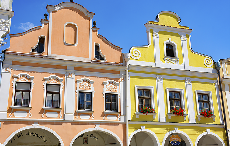 Burgher Houses Telc - travel with Mia smaller