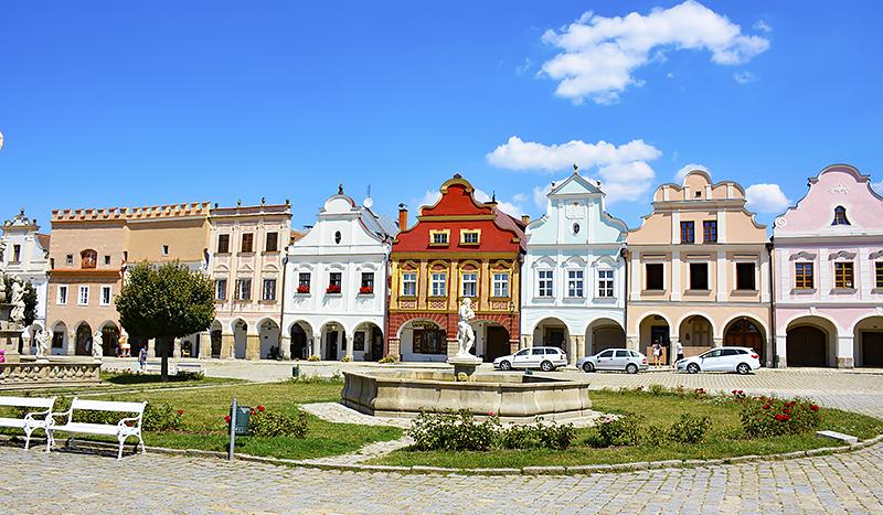 Travel with Mia - Telc Czech Republic - Hidden Gem colorful