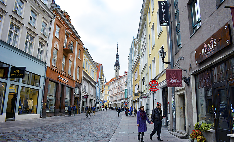 Tallinn Estonia - Viru Street Old Town - Travel with Mia - Next Trip