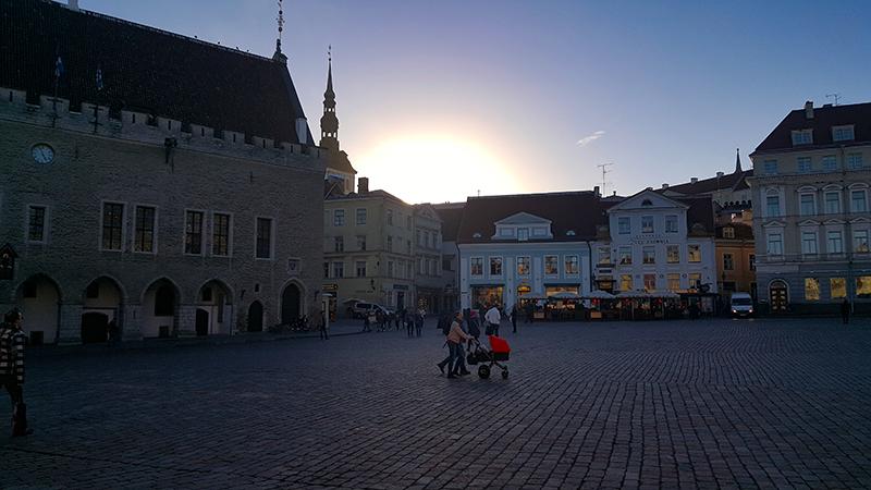 Tallinn Estonia - Old Town at Night - Travel with Mia - Next Trip