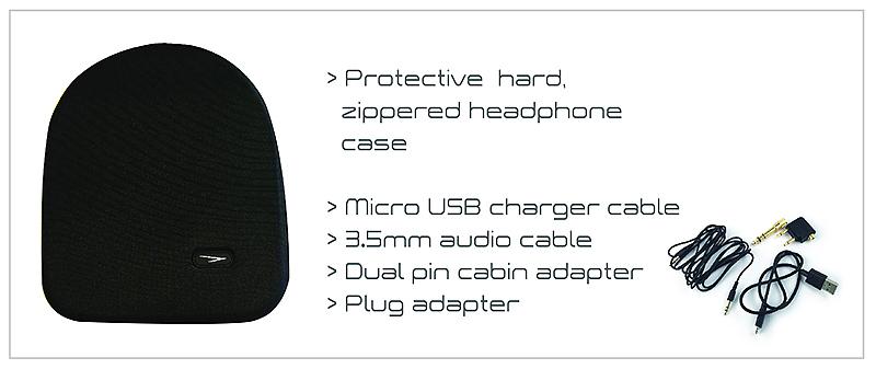 Solitude Headphones WX1 Case with Specs - Travel with Mia 2