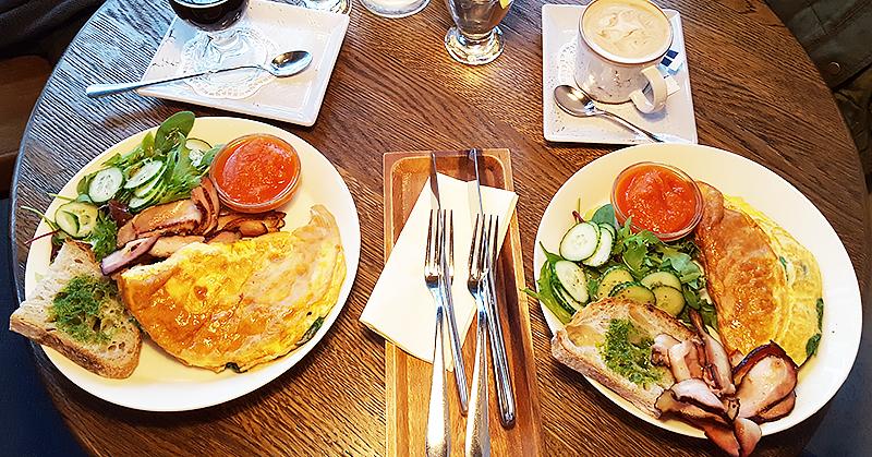 Cafe Grenka breakfast - Tallinn Estonia - Travel with Mia