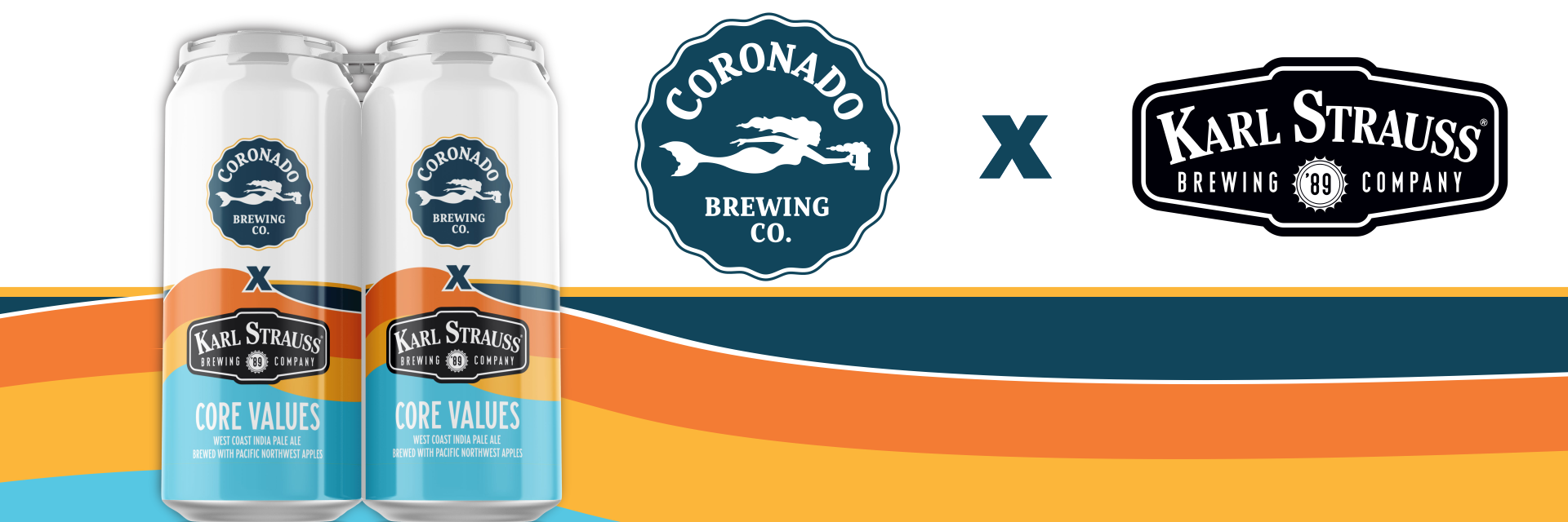 Coronado Brewing and Karl Strauss Collaborate on Core Values IPA