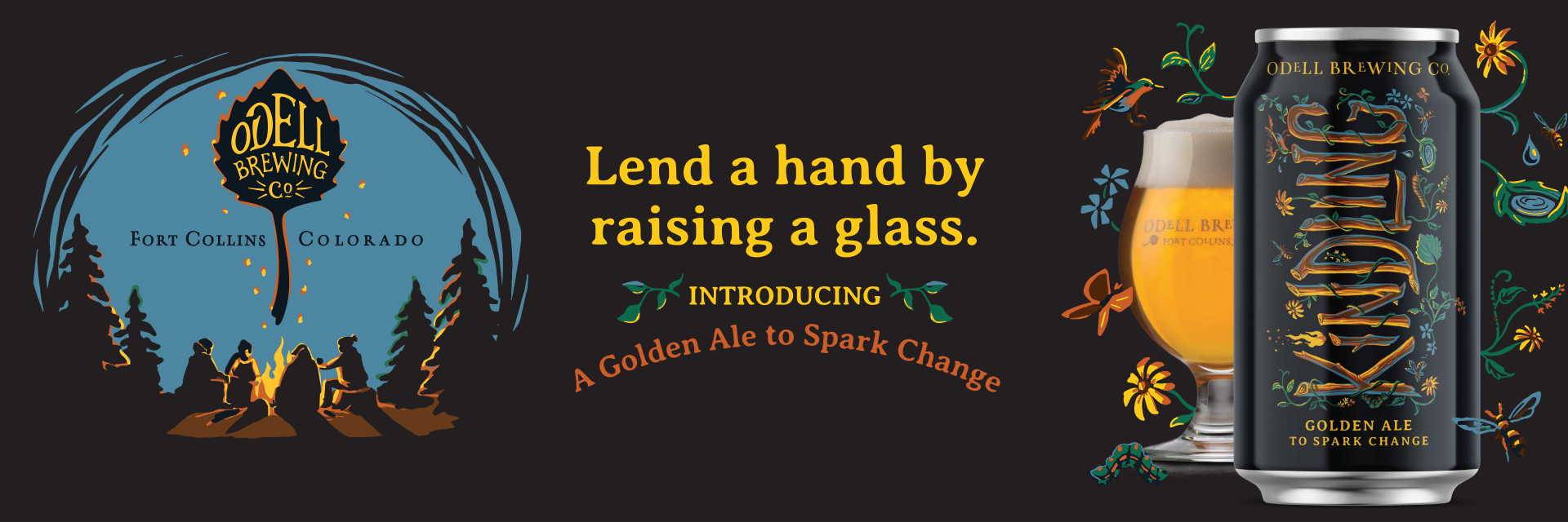 Odell Brewing Launches Kindling, Beer And Charity Program