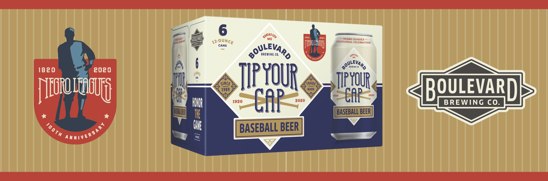 Boulevard Brewing Co. Launches Tip Your Cap Baseball Beer In Partnership With Negro Leagues Baseball Museum