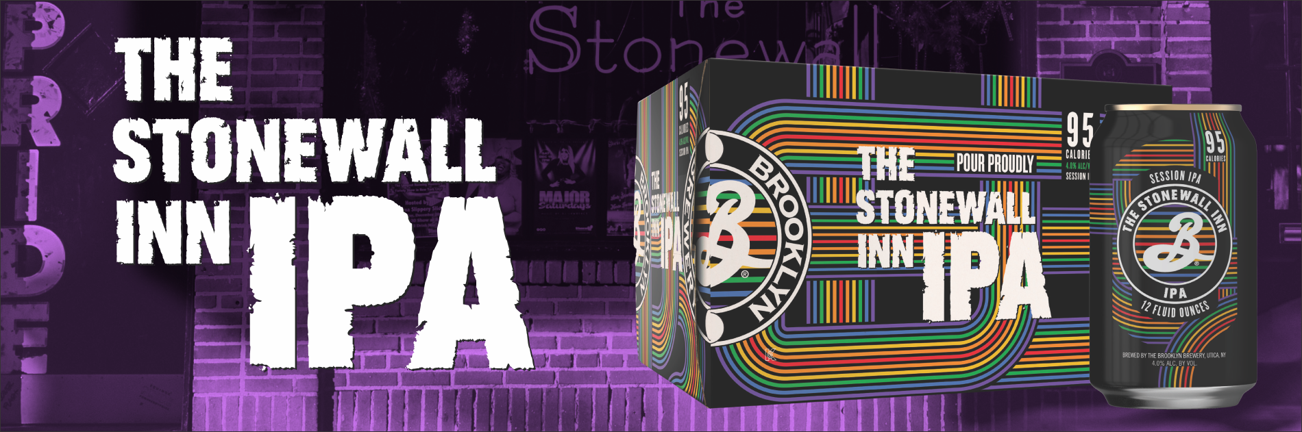 Pour Proudly: Brooklyn Brewery Stonewall Inn IPA