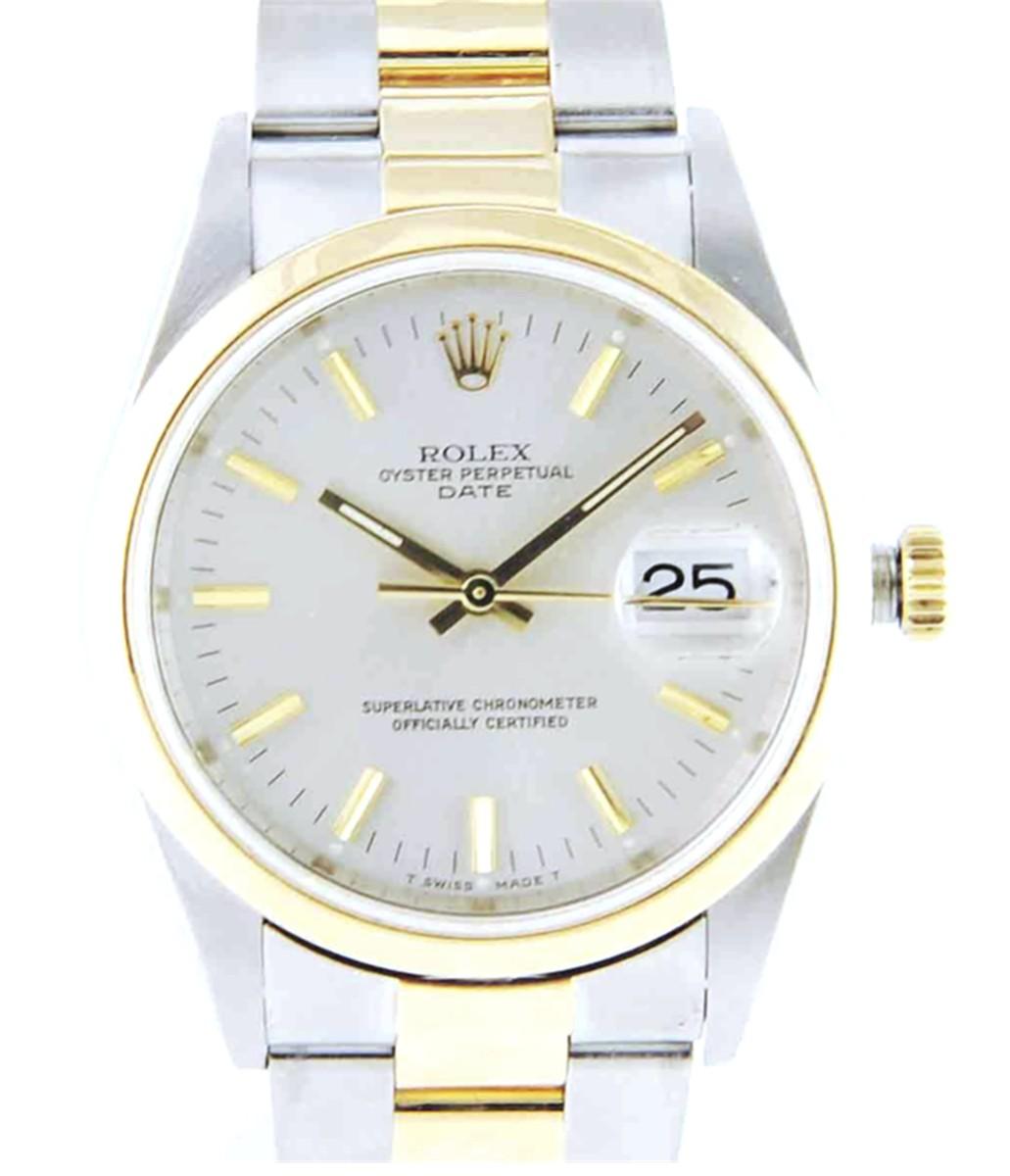Rolex 34mm Date watch Model# 15203