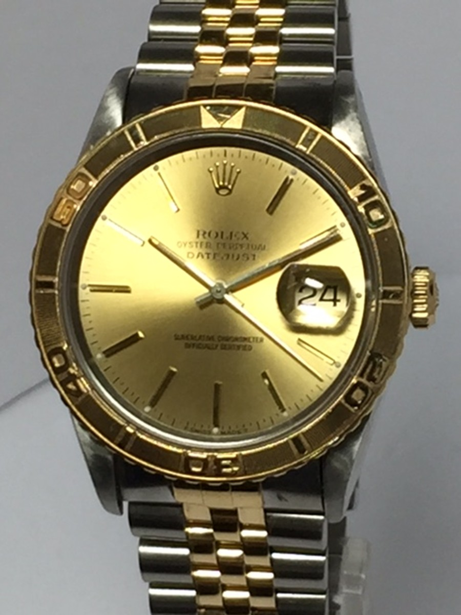 Rolex DateJust Thunderbird Stainless Steel & 18kt Yellow gold Ref: 16263