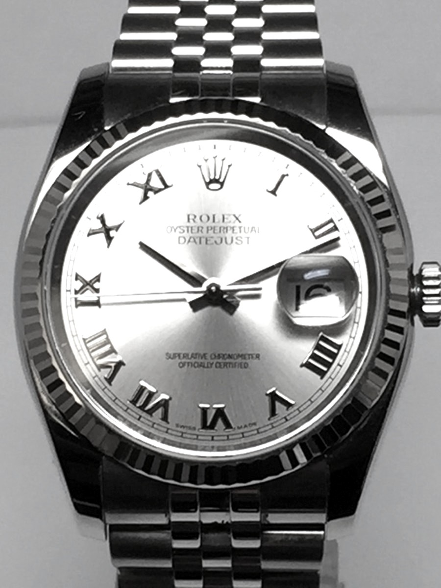Rolex Men's Steel DateJust with heavy style Jubilee bracelet Ref: 116234