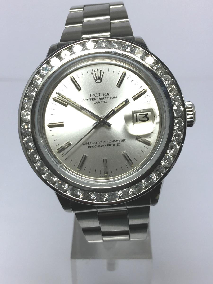 Men's 34mm Stainless Steel Rolex Date Model No: 1501