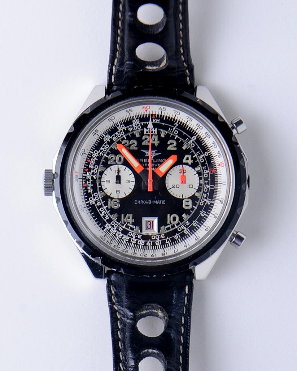 Breitling Cosmonuate Watch Model # 1809 (1969)