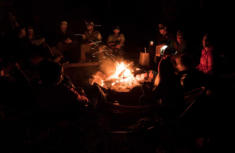 twin lakes campfire