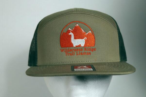 Flat Bill Snapback Llama Hat