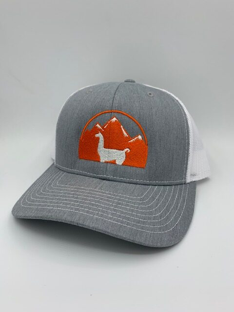 Heather Gray Llama Hat