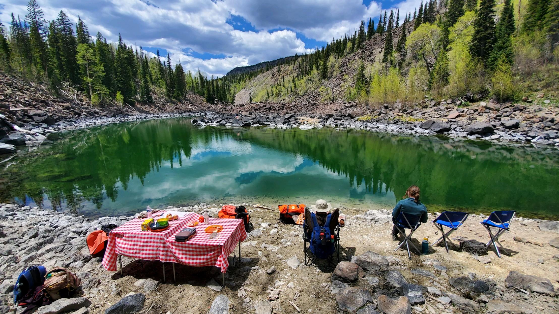 Twin Lakes Picnic
