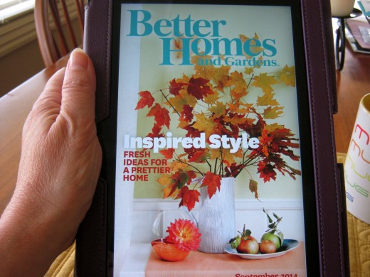 Magazines in KIndle