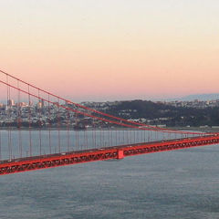 Golden Gate Bridge closure January 10, 2015 to January 12, 2015.