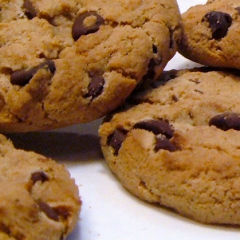 No Fail Chocolate Chip Cookies