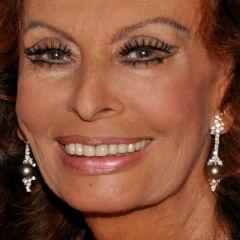 Sophia Loren and Omar Sharif: Eggplant cook-off