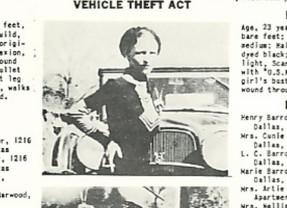 The Bonnie and Clyde Death Car
