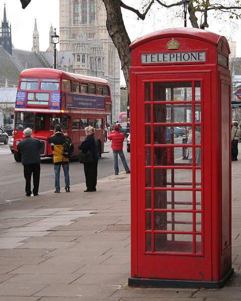 Telephone box