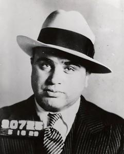 Al Cpaone Mugshot - 1929