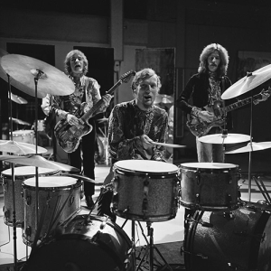 Cream performing on the Dutch television program Fanclub in 1968.