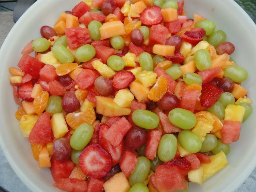 Fresh fruit salad 2s
