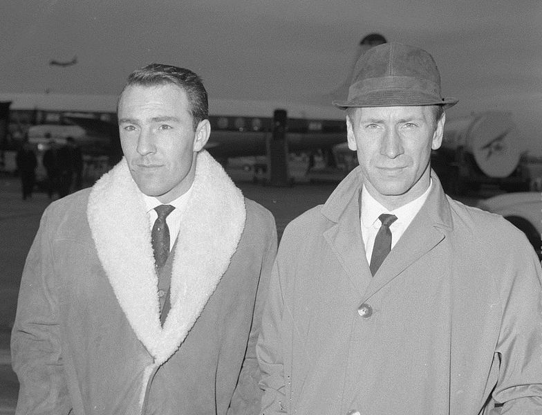Jimmy Greaves and Bobby Charlton by Jac. de Nijs / Nationaal Archief Fotocollectie Anefo