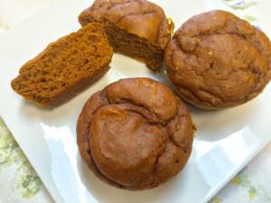 Pumpkin muffins 2s