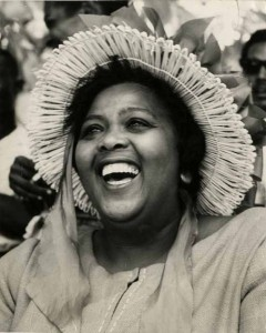 Louise Bennett - Photo courtesy of Jamaica National Library.