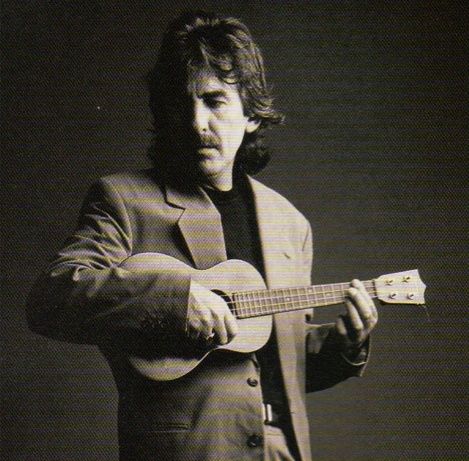 """""""Everyone I know who is into the ukulele is 'crackers! You can't play it and not laugh!"""" GEORGE HARRISON"""