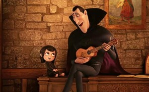 All star monster comedy feature 'Hotel Transylvania'.  where the count serenades... Buy it here.