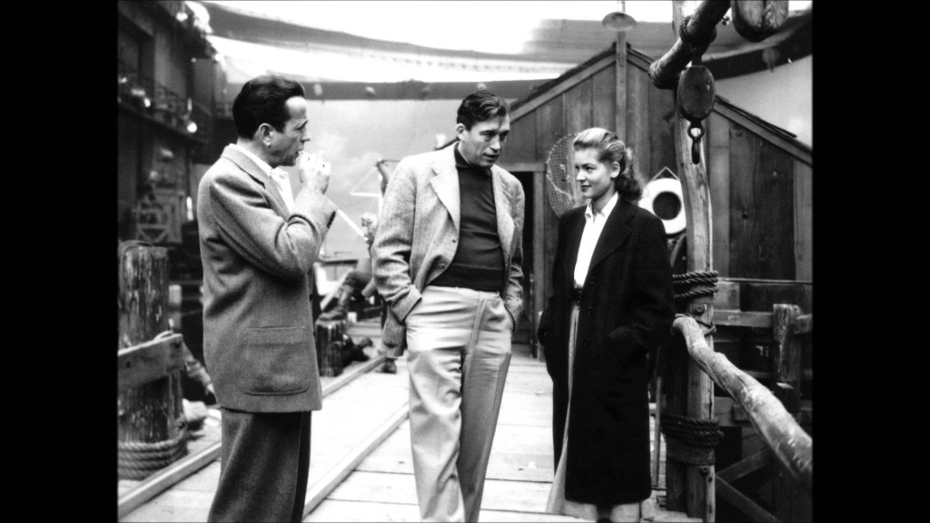 Behind the scenes on the set of Key Largo - Warner Brothers