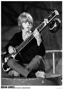 Brian Jones Ready Steady Go! London 1967 Music Poster