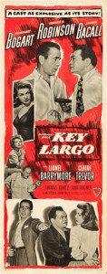 Key Largo Movie Poster Insert - Clcik for more posters