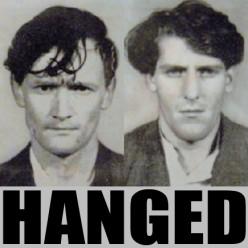 Last men hanged