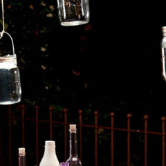 Mason Jar Solar Lighting
