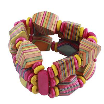 Wooden bracelet 2