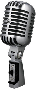 Shure 55SH Series II Iconic Unidyne Vocal Microphone (The Elvis Microphone) Click for info
