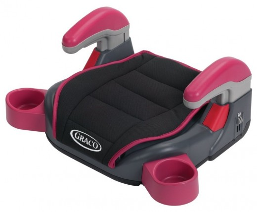 A very handy car booster seat